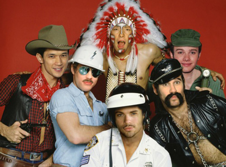 Village People Glee Cast2
