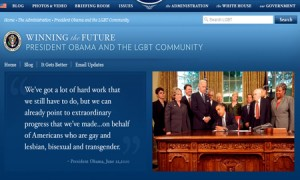Obama Administration Launches LGBT Web Page