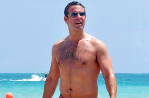 Sexy Bravo's Andy Cohen Shirtless