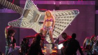 Britney Spears kicks off her 'Femme Fatale Tour' at the Powerbalance Pavilion on Thursday in...