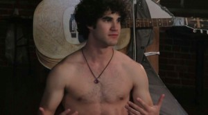 "Darren Criss Shirtless In Web Series ""Group"""