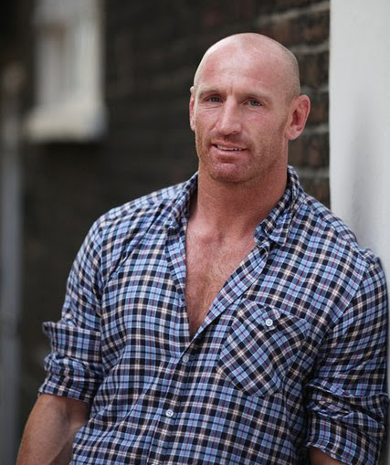 Rugby Star Gareth Thomas Discusses Pink List Openly gay rugby player Gareth ...