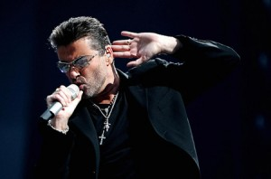 George Michael Performs At Elton John Aids Foundation Concert