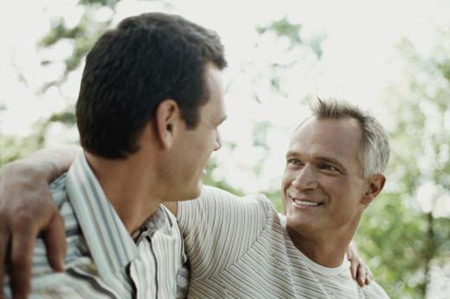 older gay couple ... chart from the National Center for Health Statistics, the average weight ...