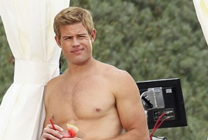 Trevor Donovan Shirtless At The Beach